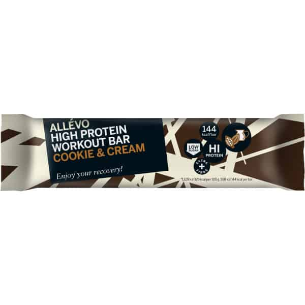 Allévo Protein Bar Cookie & Cream 45 g