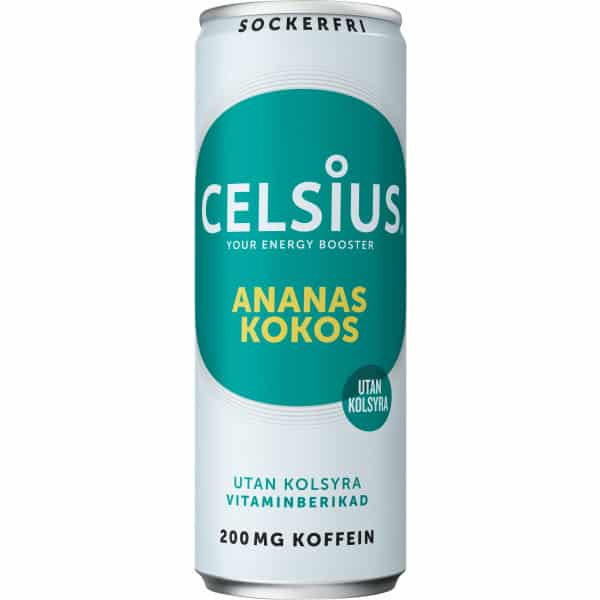 Celsius Ananas & kokos 355 ml