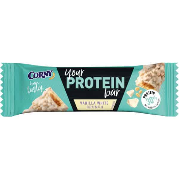 Corny Protein Bar Vanilla White Crunch 45 g