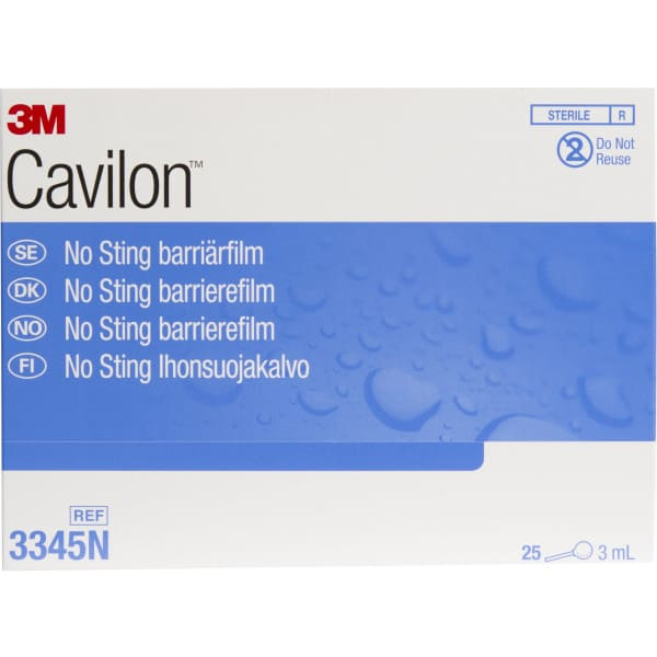 3M Cavilon No Sting Barriärfilm 25 x 1ml