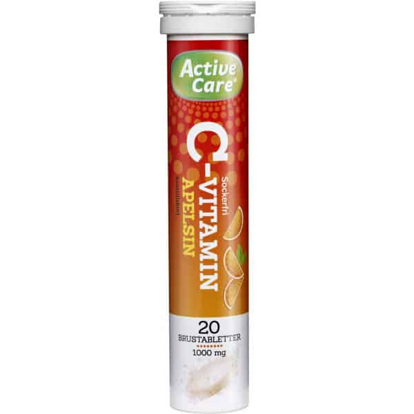 Active Care C-vitamin apelsin 20 st