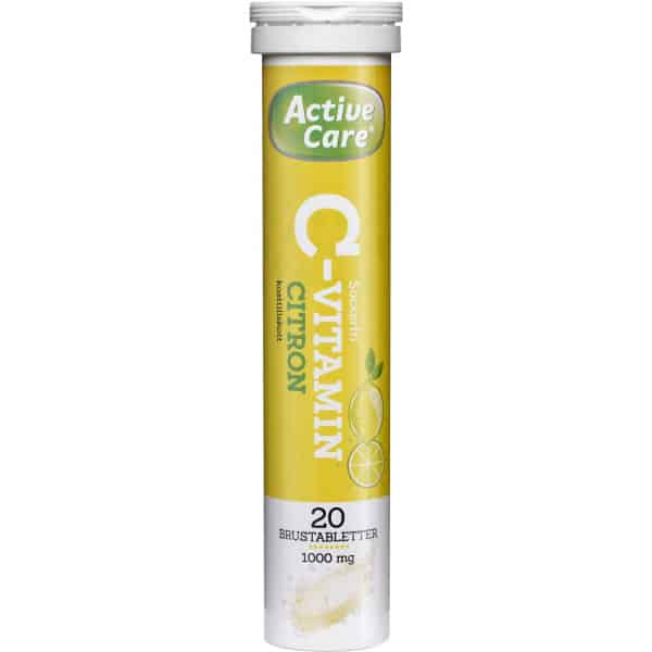 Active Care C-vitamin citron 20 st