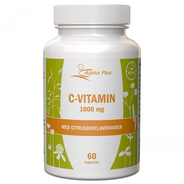 Alpha Plus C-Vitamin 60 tabletter
