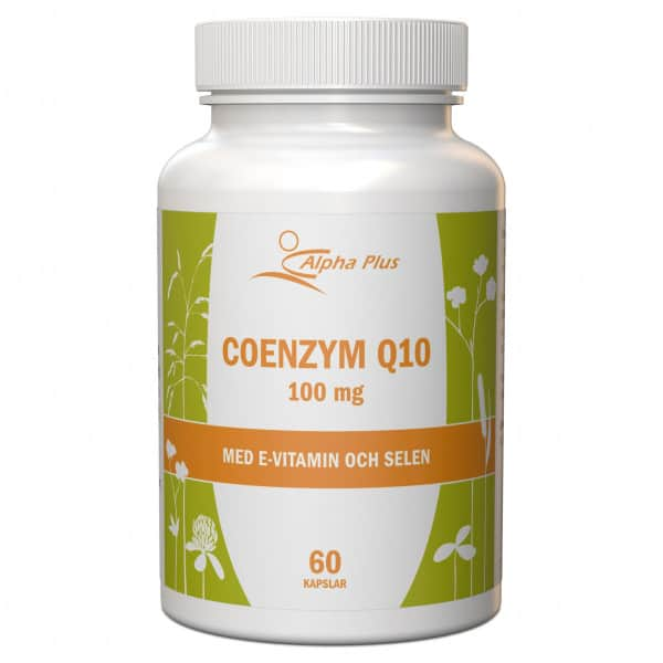 Alpha Plus Coenzym Q10 100 mg 60 kap