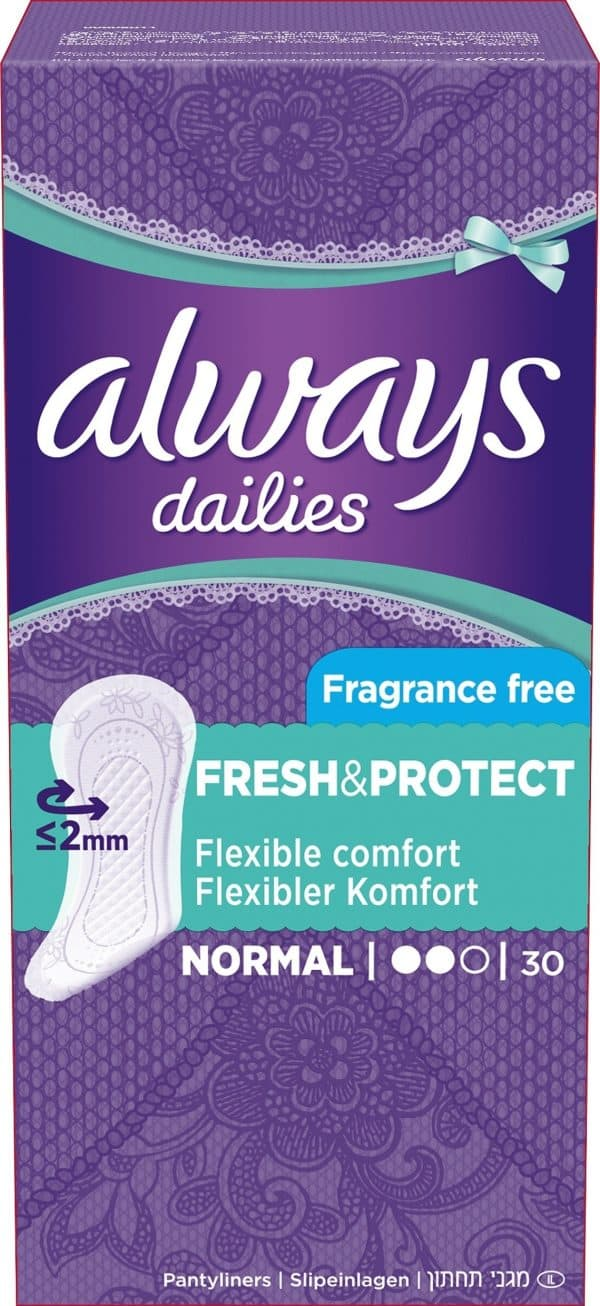 Always Dailies Fresh & Protect Normal 30 st