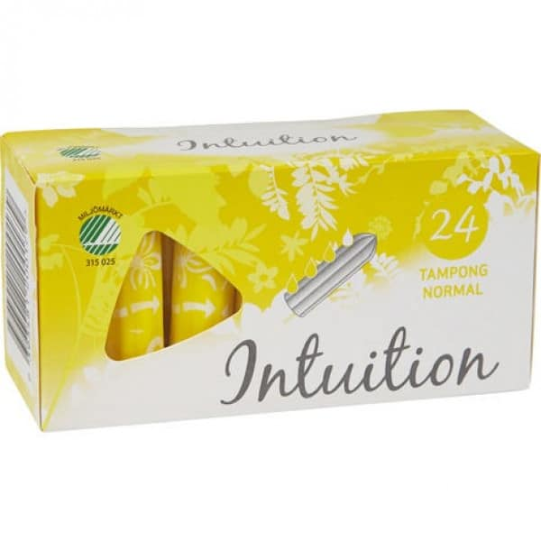 Intuition Tamponger normal 24 st