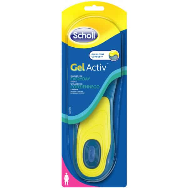 Scholl Sulor everyday woman 2 st