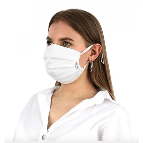 Munskydd och ansiktsmask, 2 pack VIRALOFF® 3-Lager, VIT/CAMO