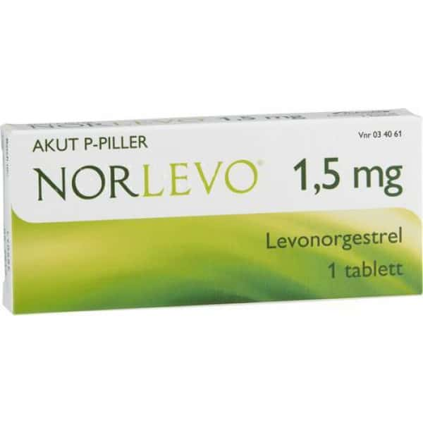 NorLevo tablett 1,5 mg 1 st- Akut p-piller