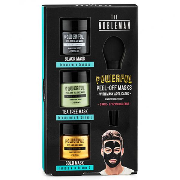 Black, Tea Tree & Gold Peel-off masks